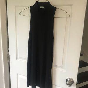 Abbeline Dresses - Mock turtleneck dress
